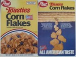 1985 Post Toasties Corn Flakes