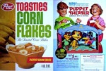 Post Toasties Corn Flakes Puppet Theater