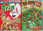 Trix Watermellon Shapes / Skittles