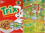 Trix With Lime Green Puffs