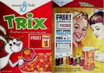 Trix Fizzies Box