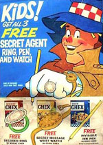 Wheat Chex Secret Agent Box