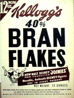 40% Bran Flakes Box - Mickey