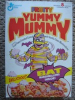 Yummy Mummy With Bat Marshmallows
