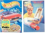 1990 Hot Wheels Cereal Box