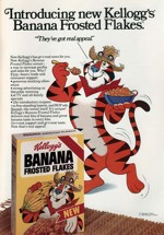 1981 Banana Frosted Flakes Promo Sheet