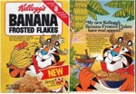 Early Banana Frosted Flakes Box