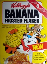 1981 Banana Frosted Flakes Box