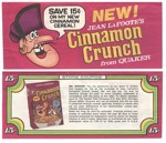Cinnamon Crunch Coupon