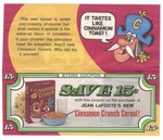 Cinnamon Crunch Coupon II