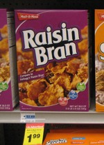 2009 Malt-O-Meal Raisin Bran