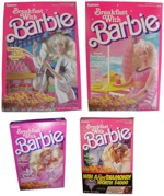Four Breakfast With Barbie Boxes