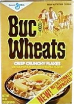 Another Buc Wheats Cereal Box