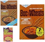 Three Buc Wheats Cereal Boxes
