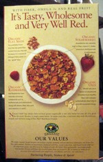Flax Plus Red Berry Crunch - Back