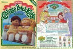 Cabbage Patch Kids (On A Swing) Box