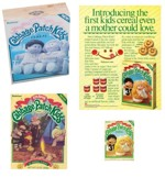 Cabbage Patch Cereal Boxes