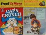 Cap'n Crunch Box w/ Doll Offer