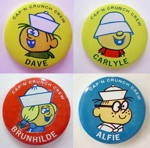 Cap'n Crunch Crew Pins