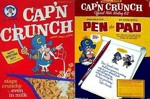 Cap'n Crunch Writing Kit Box