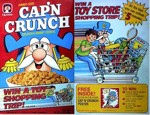 Cap'n Crunch Toy Shopping Box
