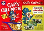 Cap'n Crunch Comic Books Box