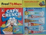 Cap'n Crunch Box - Crazy Pennants