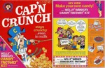 1971 Cap'n Crunch Willy Wonka Box