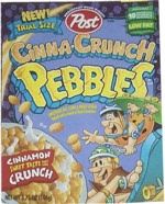 Cinna-Crunch Pebbles Trial-Size Box