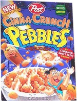 1998 Cinna-Crunch Pebbles Box