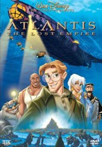 DVD Cover For Atlantis