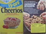 Cheerios Nuggets Box