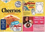 Cheerios Silly Faces Box