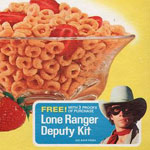 General Mills - Cheerios cereal box - Lone Ranger