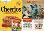Cheerios Muppet Magazine Box