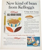 Magazine Ad for All-Bran Buds