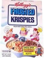 1991 Frosted Krispies Box