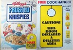 Frosted Krispies Door Hanger