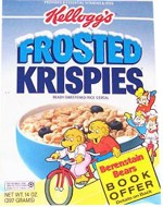1992 Frosted Krispies Box