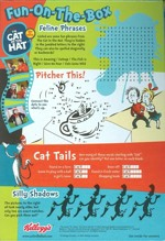 Cat In The Hat Cereal Box - Back