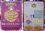2008 Bunny Love Cereal Box