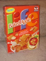 Baked Apple Life Cereal Box