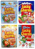 Four Winter Lucky Charms Boxes