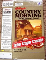 Country Morning Cereal Box