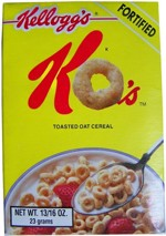 Sample Box of KO's Cereal