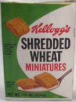 Shredded Wheat Miniatures Single Serve Box