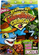 2006 Neopets Cereal Box