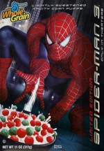 2007 Spider-Man 3 Cereal Box