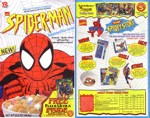 1995 Spider-Man Cereal Box