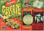 2003 Green Slime Cereal Box